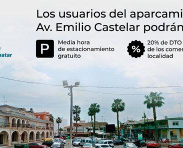 Los-usuarios-del-aparcamiento-de-la-Avenida-Emilio-Castelar-podran-disfrutar-de-la-primera-media-hora-de-estacionamiento-gratuita